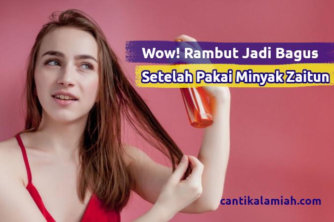 Jenis Minyak zaitun untuk rambut
